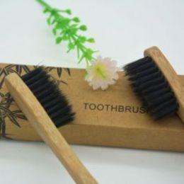 Натуральная бамбуковая зубная щетка
