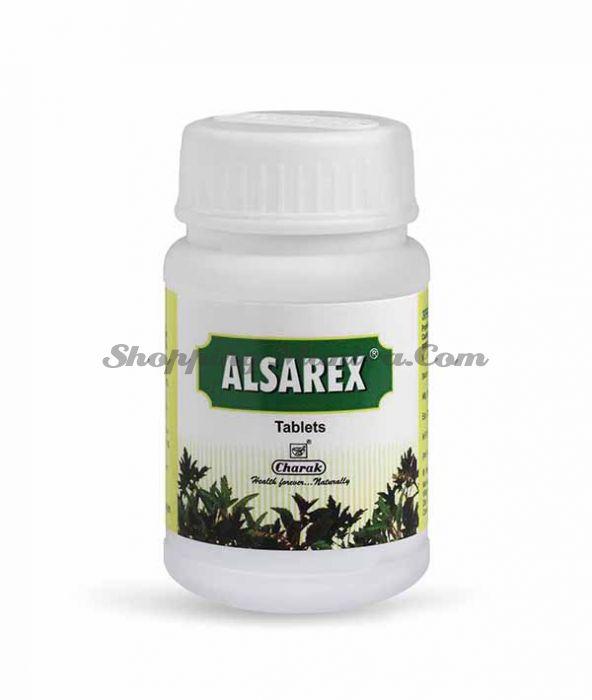 Алзарекс Чарак Фарма для кислотно-пептических расстройств   Alsarex Tablet Charak Pharma