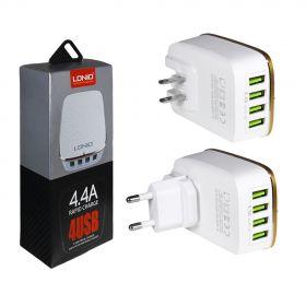 Зарядное устройство (4USB) 4,4A