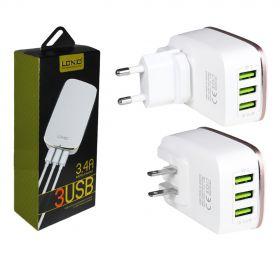 Зарядное устройство (3USB) 3,4A