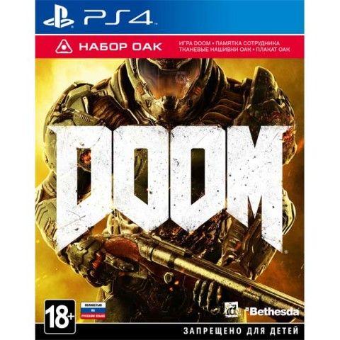 Игра Doom (PS4, русская версия) OAK Edition