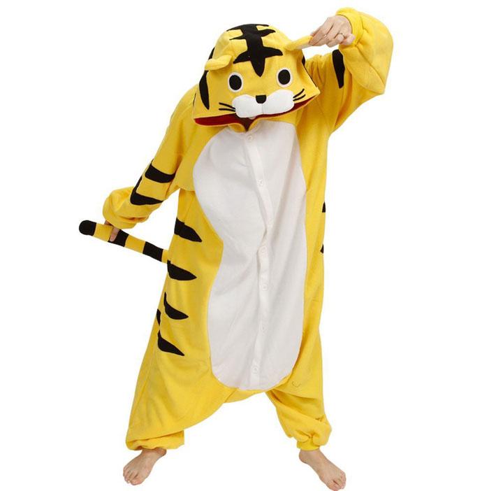Пижама Кигуруми Тигр Премиум