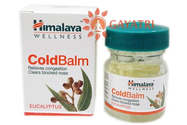 Бальзам от простуды и головной боли Колд Балм, 10 г, производитель Хималая; Cold Balm, 10 g, Himalaya