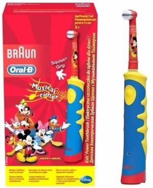 Электрическая зубная щетка Braun Oral-B Mickey Kids Power детская