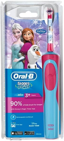 Электрическая зубная щетка Braun Oral-B Vitality Frozen kids 3+