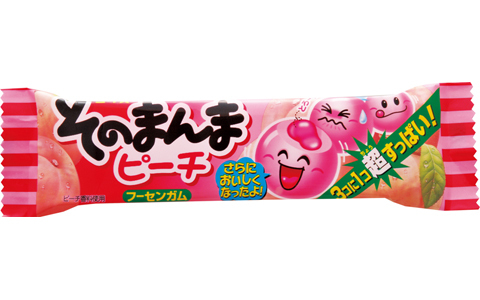 Жевательная резинка со вкусом персика 14,4 гр