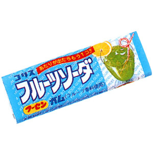 Жевательная резинка со вкусом лимонада 11 гр