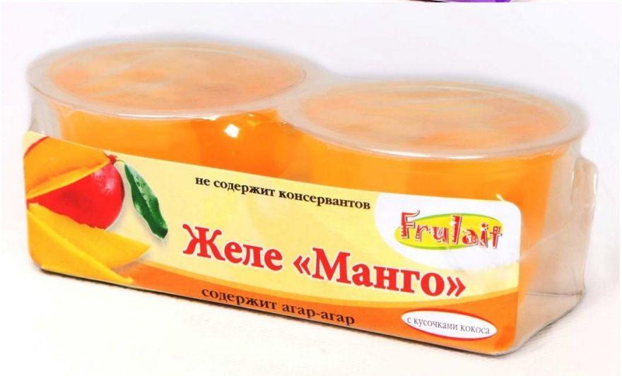Желе «Frulait» Манго 236 гр