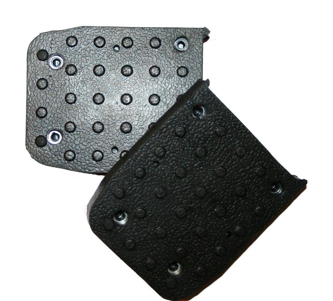 Резиновые накладки на подошву для строительных ходулей