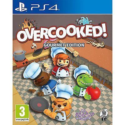 Игра Overcooked! Gourmet Edition (PS4)