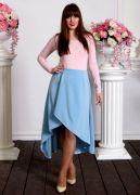 Купить голубую юбку