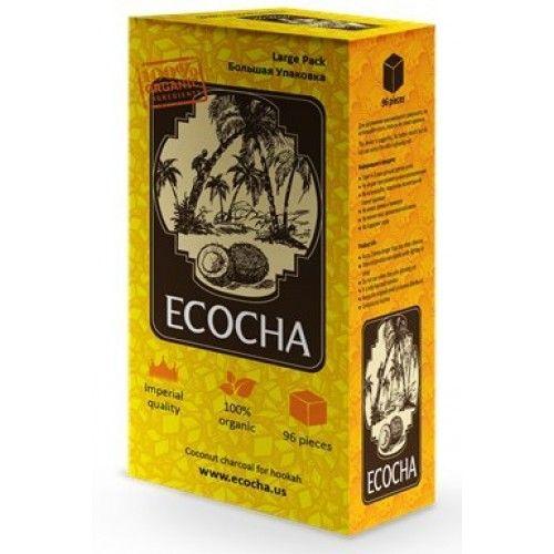 Уголь Натуральный Кокосовый Ecocha 96