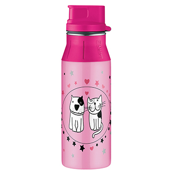 Бутылка питьевая Alfi elementBottle Cats and Dogs TV 0,6L