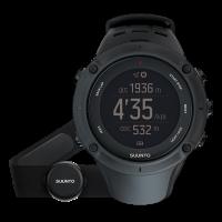 Suunto Ambit3 peak black (HR) часы с пульсометром и GPS для многоборья с погодными функциями