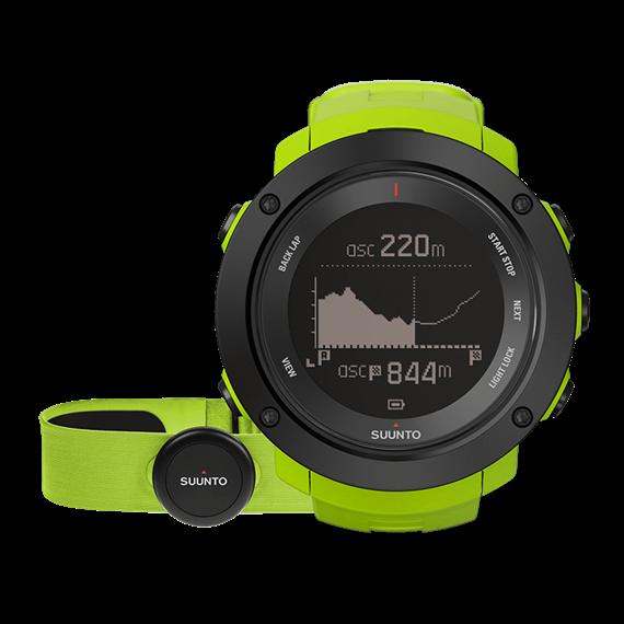 Suunto Ambit3 Vertical lime (HR) часы с пульсометром и GPS