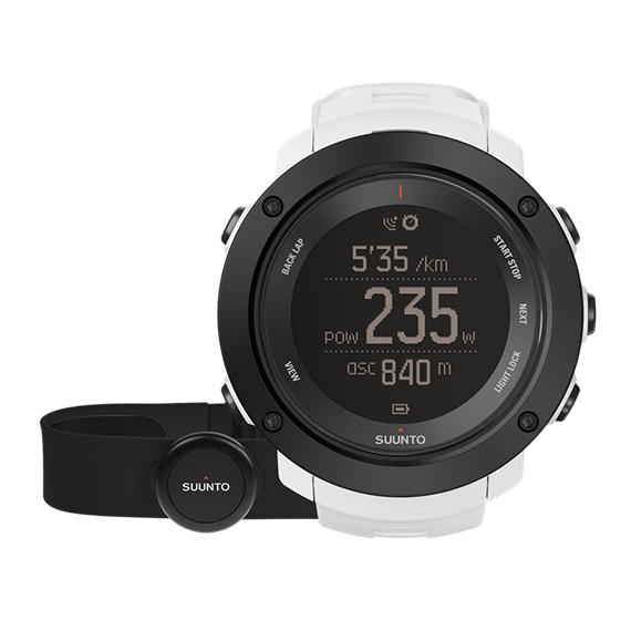 Suunto Ambit3 Vertical white (HR) часы с пульсометром и GPS