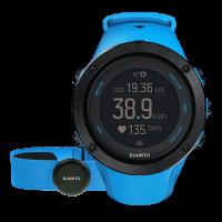 Suunto Ambit3 peak sapphire blue (HR) часы с пульсометром и GPS для многоборья с погодными функциями
