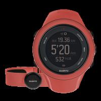 Suunto Ambit3 sport coral (HR) часы с пульсометром и GPS для многоборья