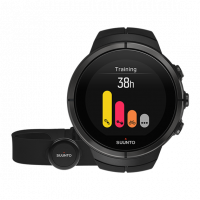 Suunto Spartan ultra all black titanium (HR) часы с пульсометром и GPS