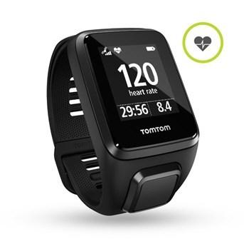 TomTom Spark 3 Cardio (GPS часы с пульсометром, компасом и трекером активности для мультиспорта)