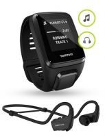 TomTom Spark 3 Music + Bluetooth Headphones (GPS часы с MP3 плеером, компасом и трекером активности для мультиспорта)