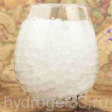 Гидрогель аквагрунт 1 см белый (2000 шт)