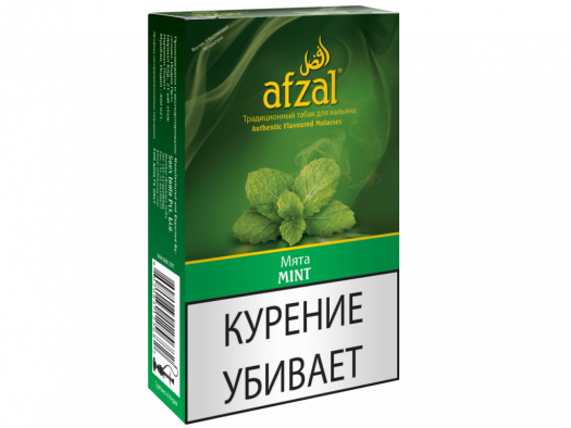 Табак для кальяна Afzal Mint