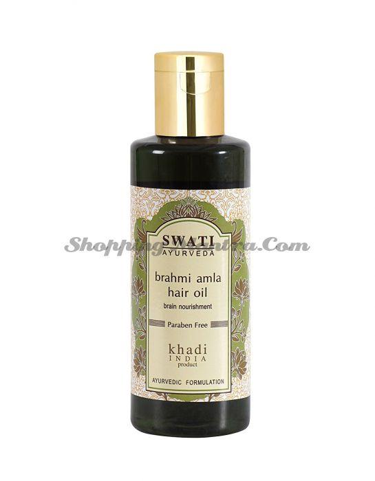 Питательное масло для волос Амла & Брахми Свати Аюрведа | Swati Ayurveda Amla&Brahmi Hair Oil