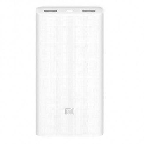 Повер банк Xiaomi Mi Power Bank 2C 20000 мАч белый