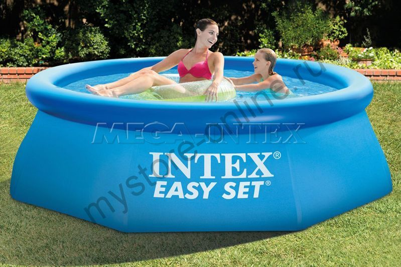 Бассейн Intex Easy Set 244Х76см, 2419л
