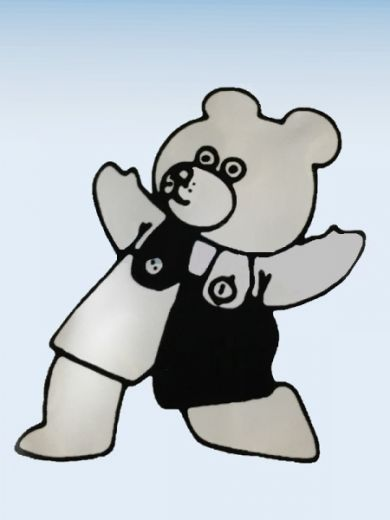 """Резиновая тяга """"Медведь"""" 1/4 – 4.5 oz сильная"""