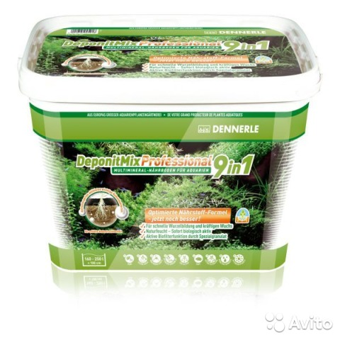 Грунт Dennerle DeponitMix Professional 9in1