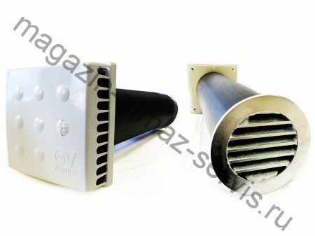 Клапан Инфильтрации Воздуха КИВ-125 Квадро (KIV Quadro VORTICE) 500 мм.