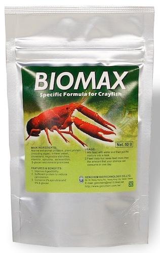 Корм Biomax для раков 50g
