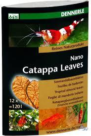 Миндальные листья Dennerle Nano Catappa Leaves 12шт