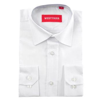 Рубашка однотонная(4-16лет)№2559