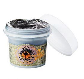 SKINFOOD Black Sesame Seed Hot Mask 110g - Разогревающая маска с черным кунжутом