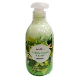 Deoproce Pure Green Recipe Clinic Shampoo 300ml - шампунь для волос укрепляющий