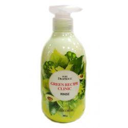 Deoproce Pure Green Recipe Clinic Rinse 300g - бальзам для волос укрепляющий
