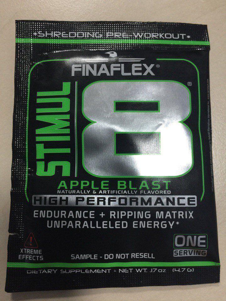 Предтренировочный комплекс Stimul 8 1п. Яблоко (Finaflex)