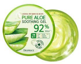 DEOPROCE Pure Aloe Soothing Gel 95% 300ml -Универсальный гель с 95% алоэ вера
