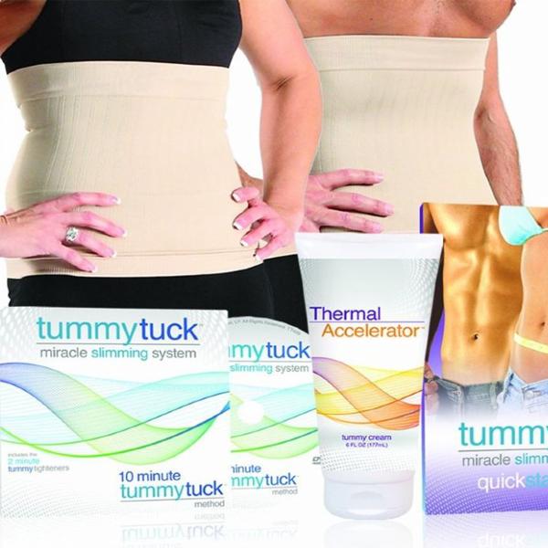 Утягивающий пояс Tummy Tuck
