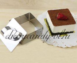Формы для выпечки и сбора десертов с прессом