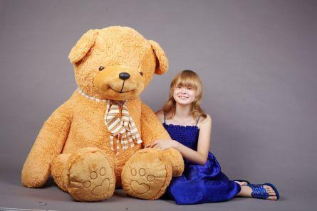 Плюшевый медведь 170см