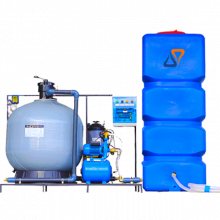 Система очистки воды АРОС 10+К(Для 7-10 постовой автомойки)