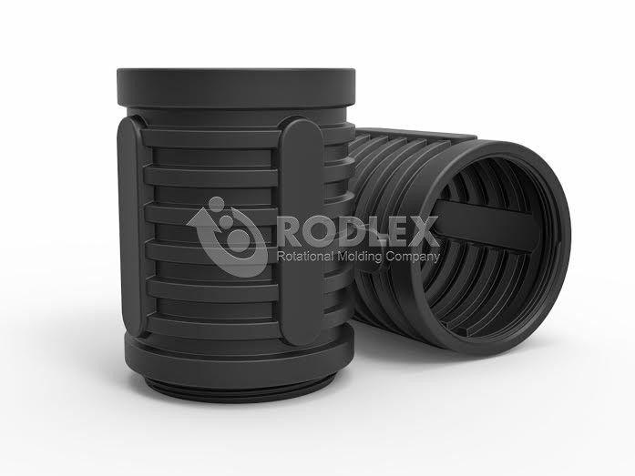Добавочная 1000 мм секция колодца, диаметром 800 мм RODLEX