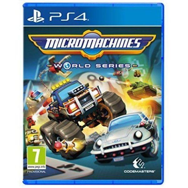 Игра MicroMachines World Series (PS4)