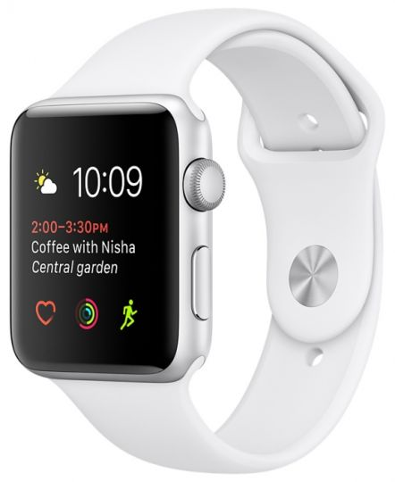 Apple Watch Series 2 38mm with Sport Band White
