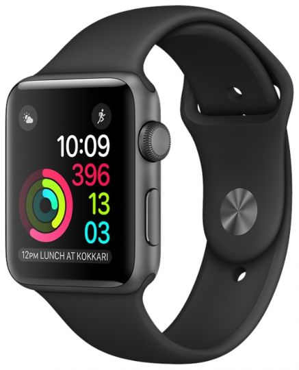 Apple Watch Series 2 42mm with Sport Band Black