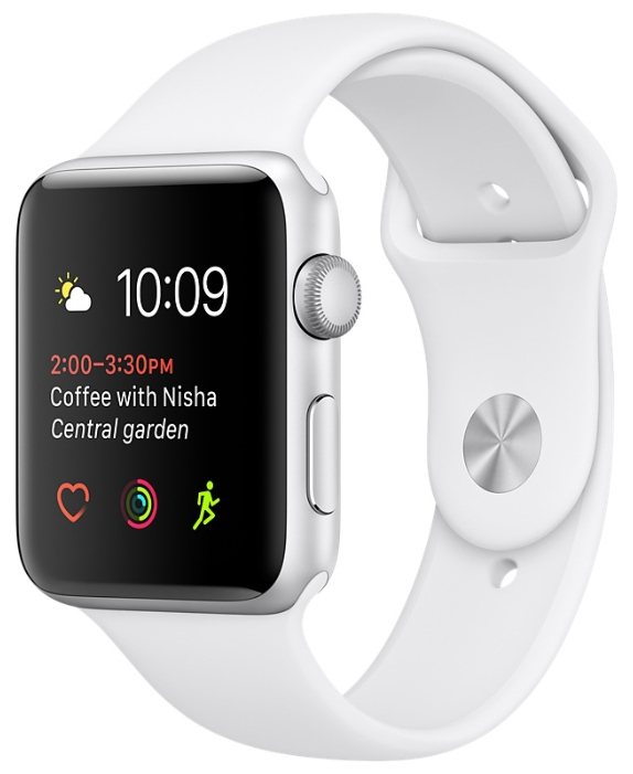 Apple Watch Series 2 42mm with Sport Band White
